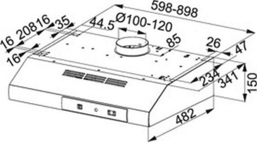 Nákres FTT 632 WH FS