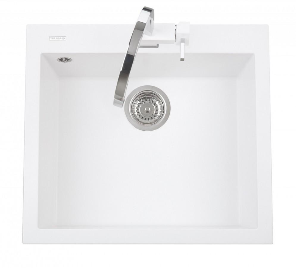 Sinks CUBE 600.510 polar white