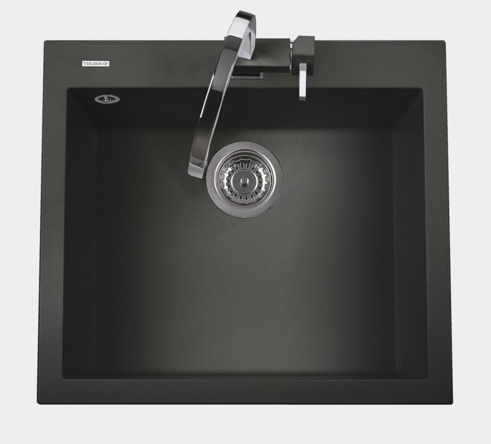 Sinks CUBE 600.510 ebony black