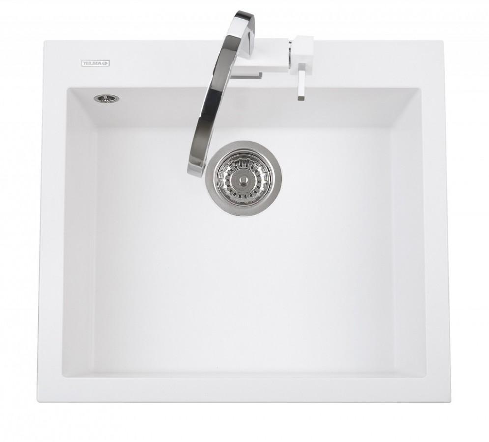 Sinks CUBE 600.510 milk white