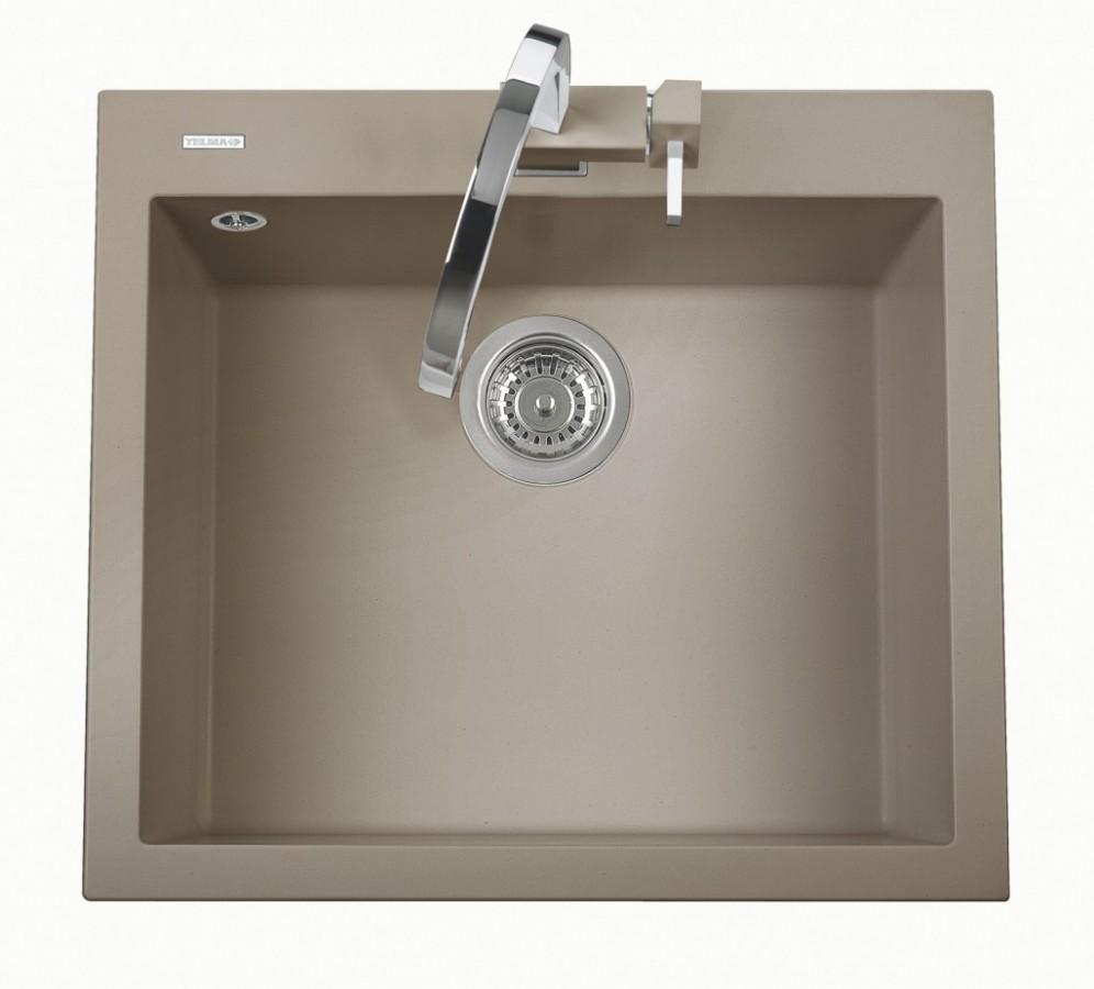 Sinks CUBE 600.510 truffle