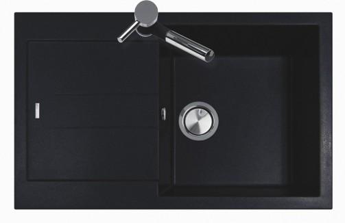 Granitový dřez Sinks AMANDA 780 Metalblack