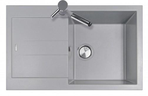 Granitový dřez Sinks AMANDA 780.500 aluminium