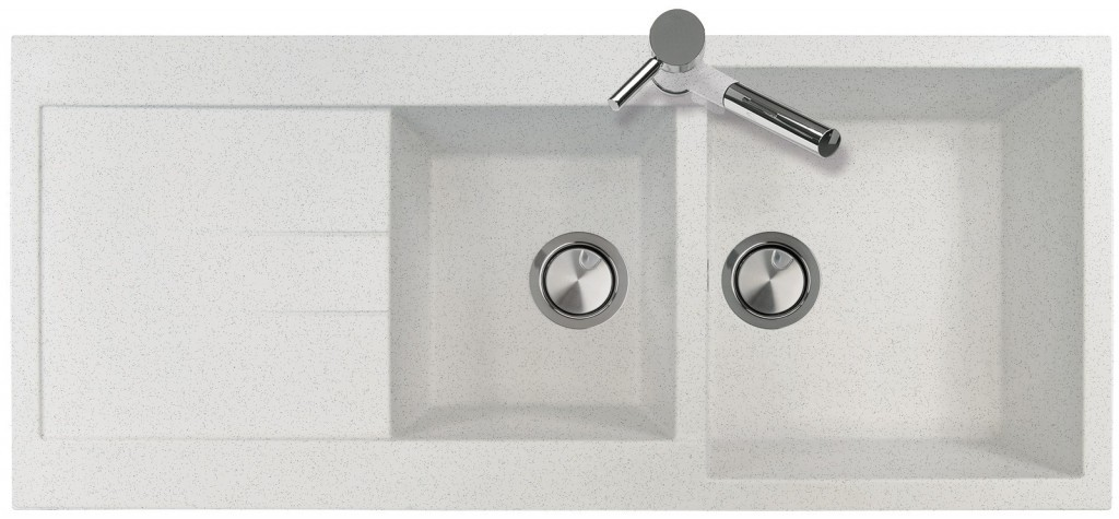 Sinks AMANDA 1160.500.2 polar white
