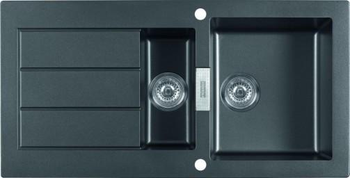 Tectonitový dřez Franke SID 651 černá