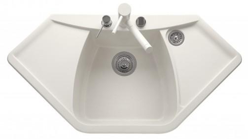 Granitový dřez Sinks TELMA NAIKY 980 milk