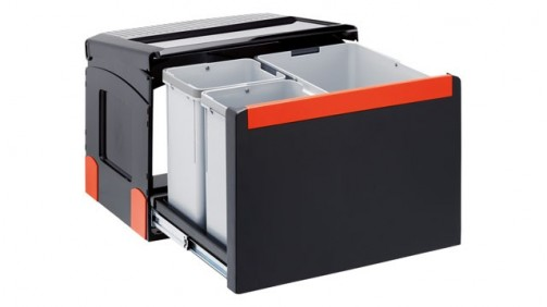 Kuchyňský sorter Franke Cube 50-1x14 l, 2x8 l
