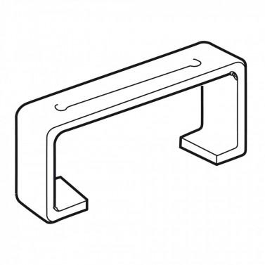 Úchyt plochého potrubí - systém 100 mm č.1