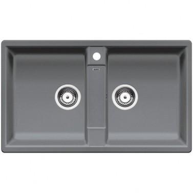 Granitový dřez Blanco ZIA 9  aluminium