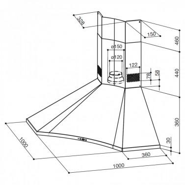Technický nákres SOLARIS EG6 X A100