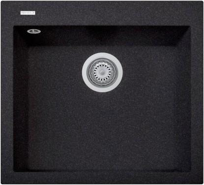 Granitový dřez Sinks TELMA CUBE 560.500 ebony black