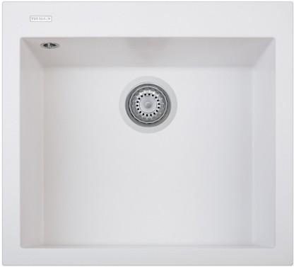 Granitový dřez Sinks TELMA CUBE 560.500 milk white