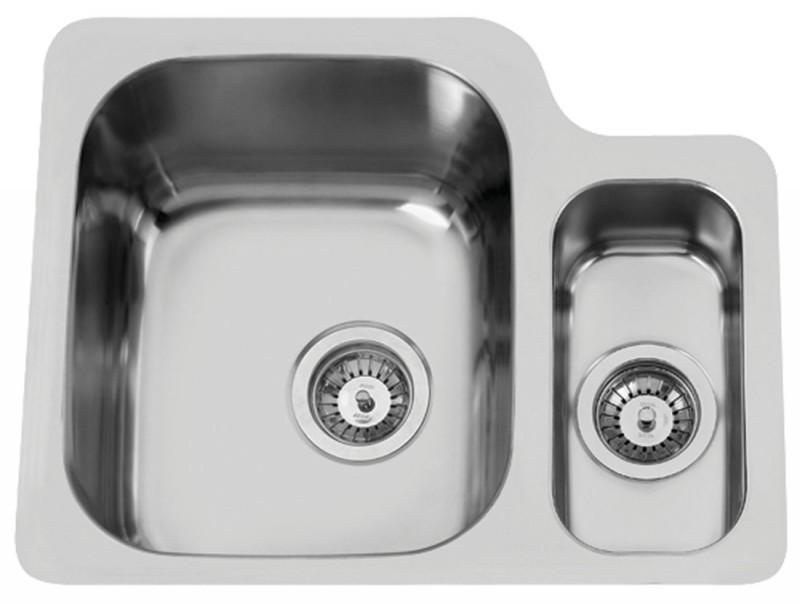 Sinks Rodi Duo 571.1 V 1,0mm levý leštěný