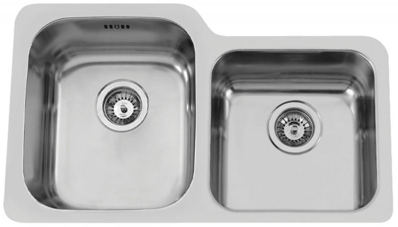 Sinks Rodi Duo 755 V 1,0mm levý leštěný