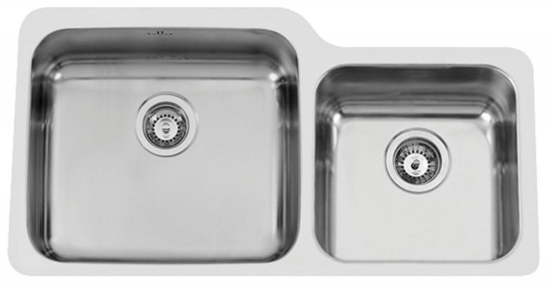 Sinks Rodi Duo 865 V 1,0mm levý leštěný