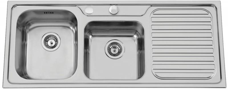 Sinks Rodi CAPRICE 1200 DUO V 0,7mm levý leštěný