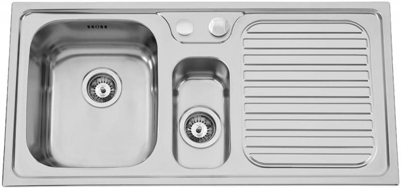 Sinks Rodi HERA 1000.1 V 0,7mm levý leštěný