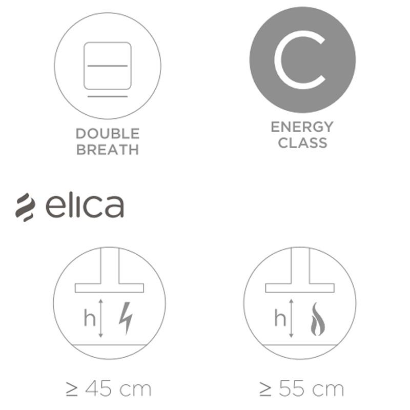 ELICA STRIPE LUX WH/A/60