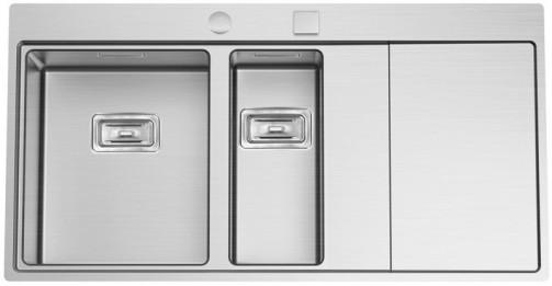 Nerezový dřez Sinks XERON 1000.1 levý 1,2mm