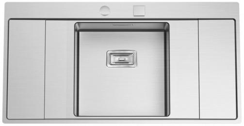 Nerezový dřez Sinks XERON 1000 středový 1,2mm