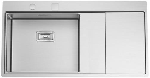 Nerezový dřez Sinks XERON 1000 levý 1,2mm