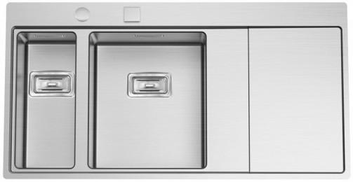 Nerezový dřez Sinks XERON 1000.9 pravý 1,2mm