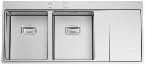 Nerezový dřez Sinks XERON 1160 DUO levý 1,2mm