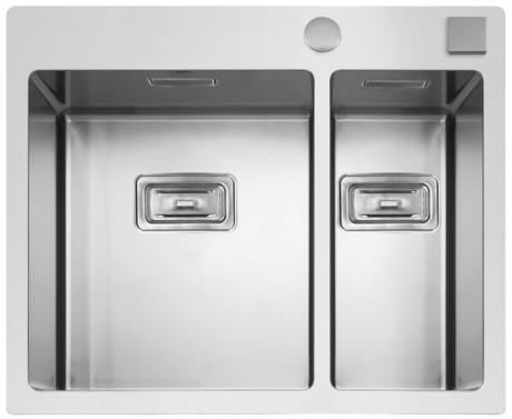 Nerezový dřez Sinks BOXER 585.1 FI 1,2mm