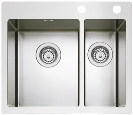 Nerezový dřez Sinks BOXER 585.1 RO 1,2mm
