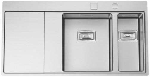 Nerezový dřez Sinks XERON 1000.9 levý 1,2mm