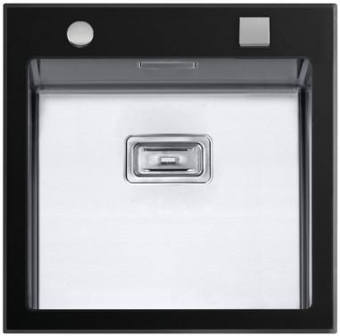 Sinks GLASS 530 černý 1,2mm