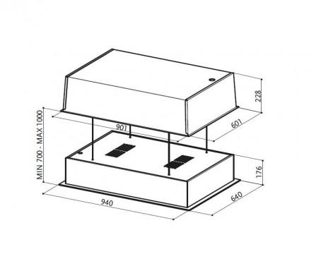 Technický nákres SKYLIFT