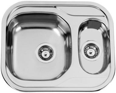 Nerezový dřez Sinks SKYPPER 600.1 V 0,7mm matný