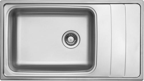 Sinks WAVE 915 V 0,8mm leštěný