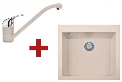 Sinks CUBE 560 Avena + Sinks CAPRI 4 - 29 Avena