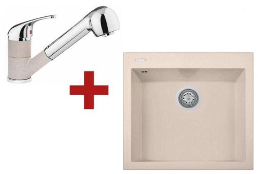 Sinks CUBE 560 Avena + Sinks CAPRI 4 S - 29 Avena